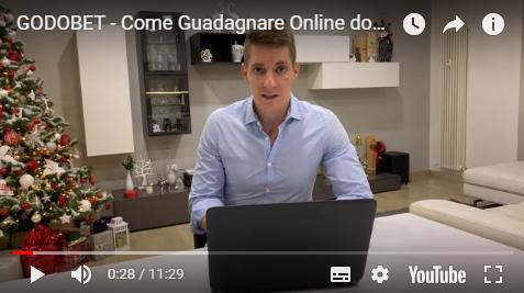 Video in cui spiego cos'è Godobet e come funziona il suo canale VIP.